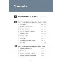 ROUTINES DE MANOEUVRES D' UN CATAMARAN FRANCAIS/ANGLAIS