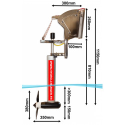 Hydro Chargeur pour fixation au tableau