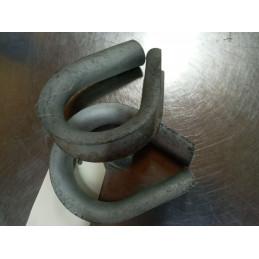 Cosse cœur en acier zingué (Diam : 20mm)