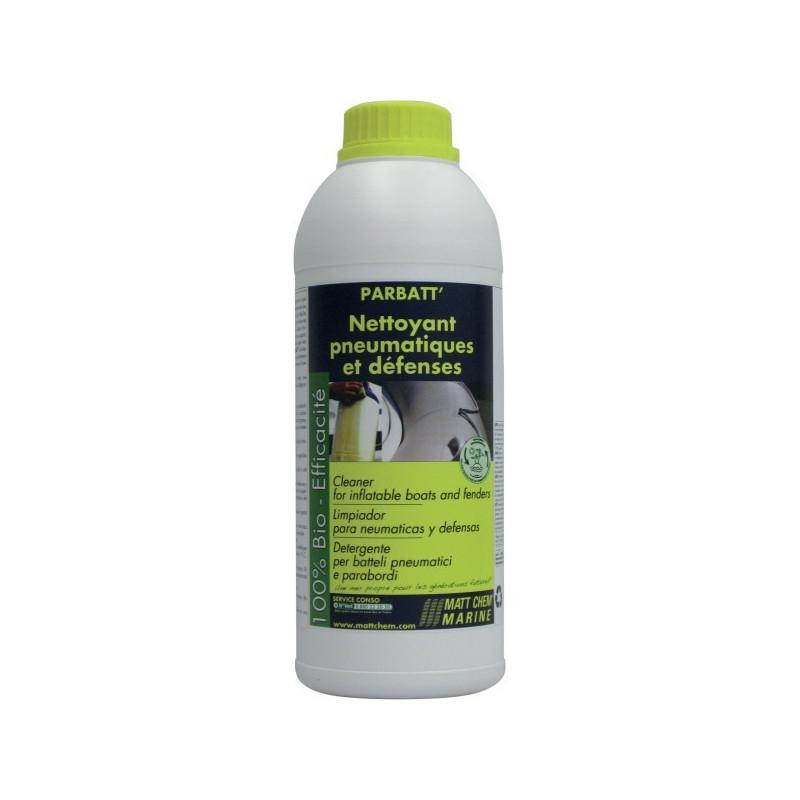PARBATT : nettoyant végétal pneumatique et défenses