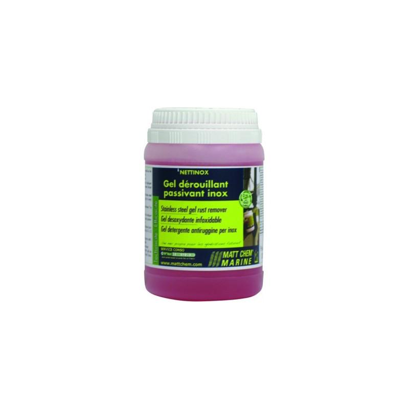 NETTINOX : Gel dérouillant nettoyant - produit de nettoyage pour inox