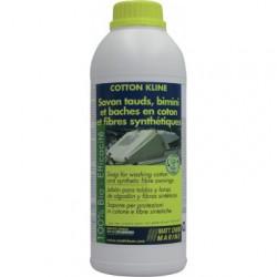 COTTON KLINE: savon concentré pour tauds coton et fibres synthétiques