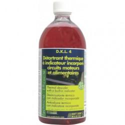 D.K.L.4 : Détartrant thermique : indicateur incorporé