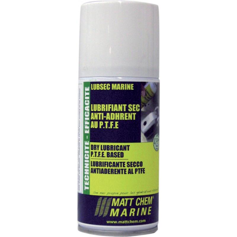 LUBSEC MARINE 150ML : Lubrifiant sec anti-adhérent au P.T.F.E
